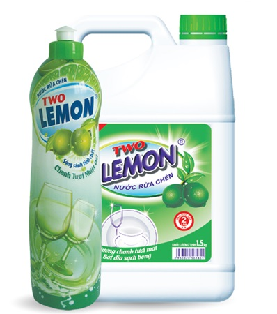 two lemon dishwashing liquid 4kg